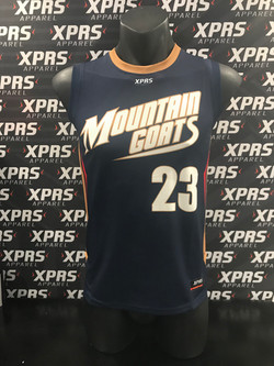 Mountain Goats Basketball Singlet