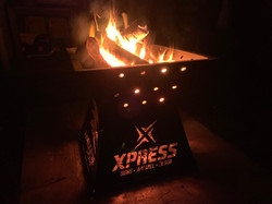 Xpress Signs Fire Pit