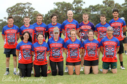 Tiki Roos Touch Footy Tops