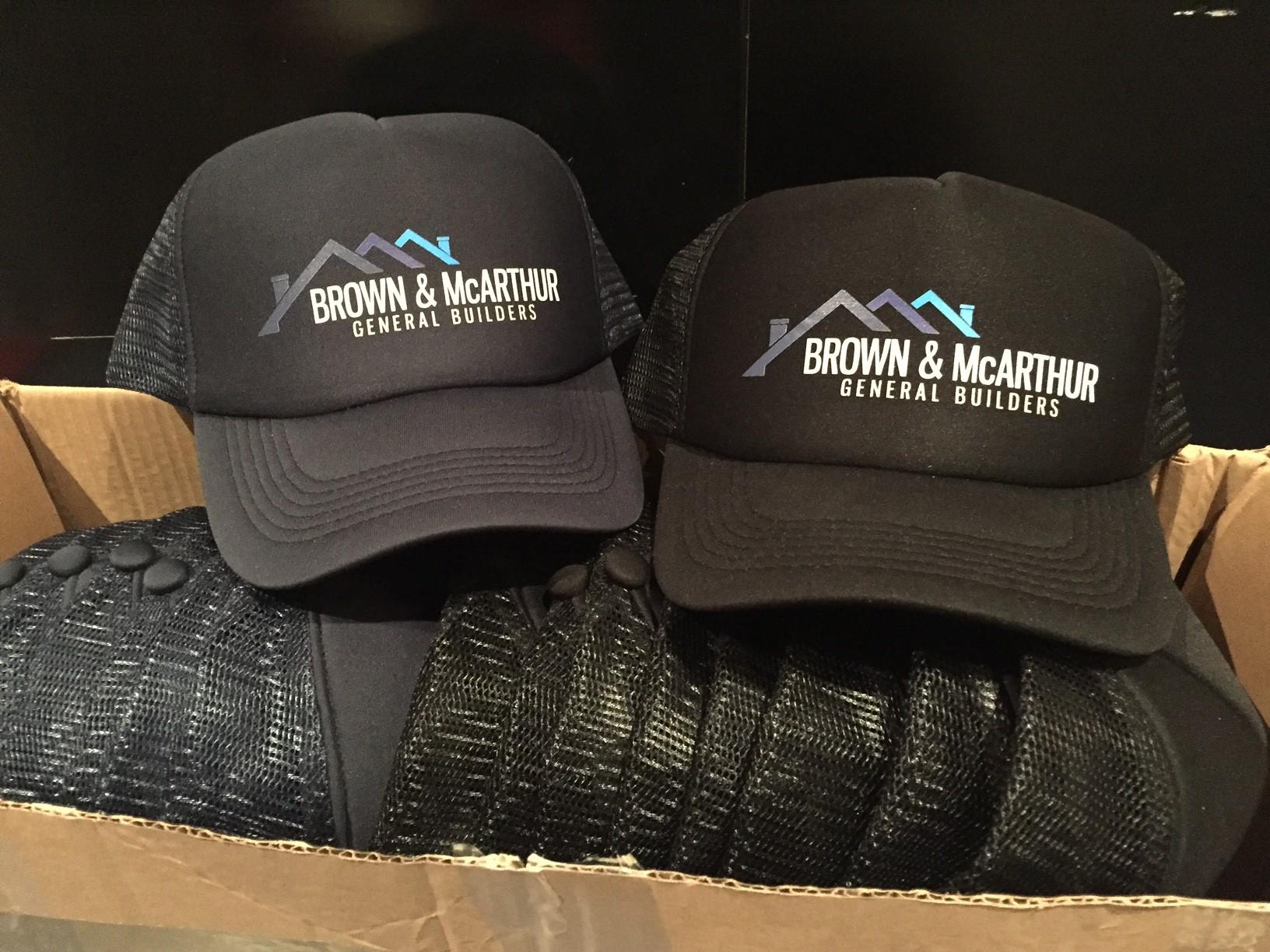 Brown & McArthur Trucker Hats