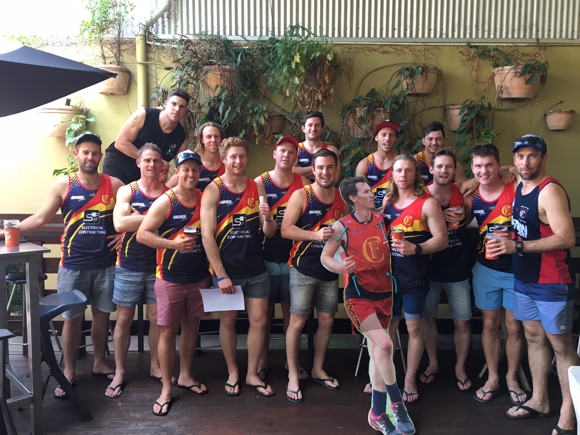Flinders Park Footy Trip Singlets