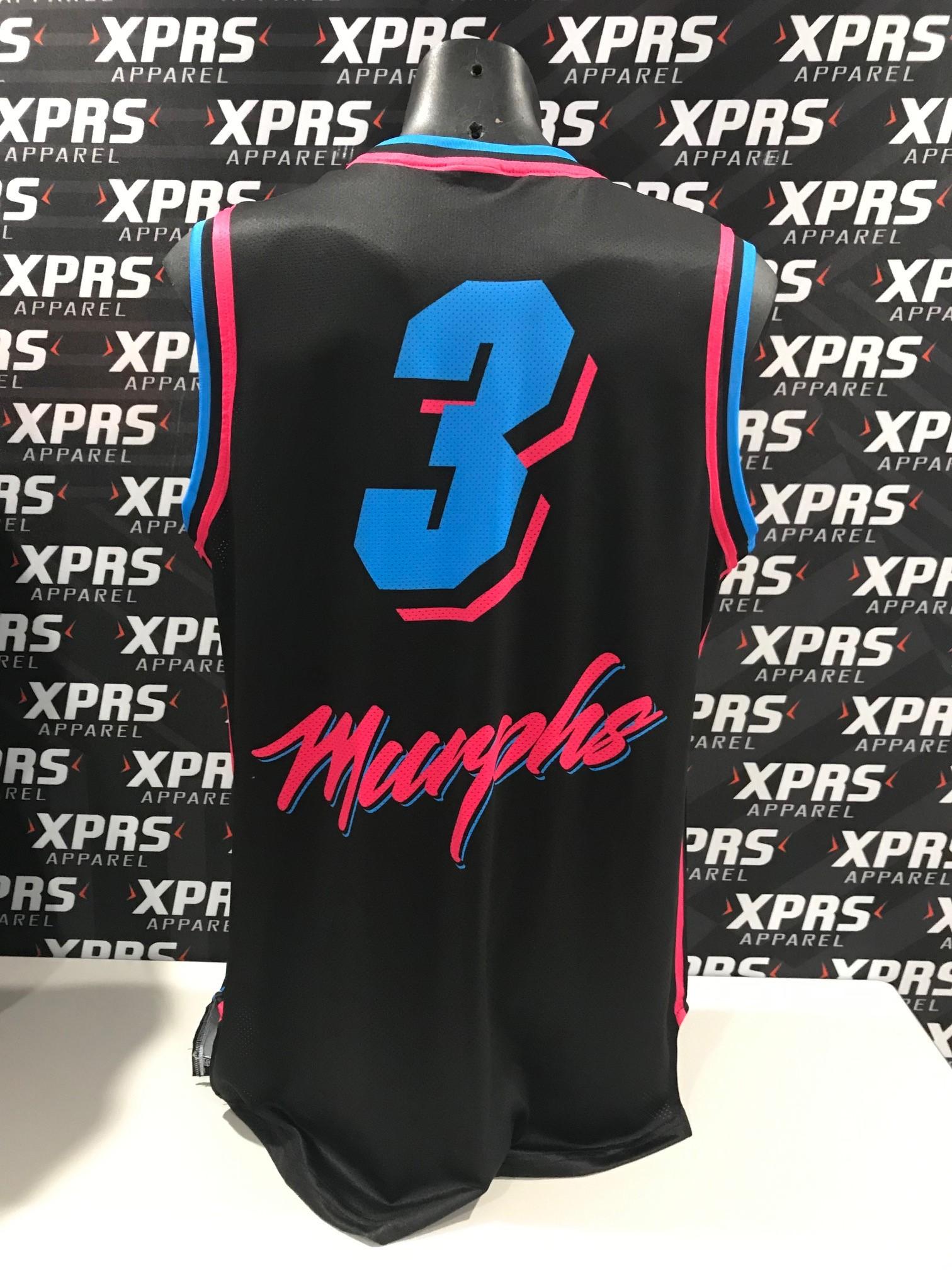 Murphs Basketball Singlet Back