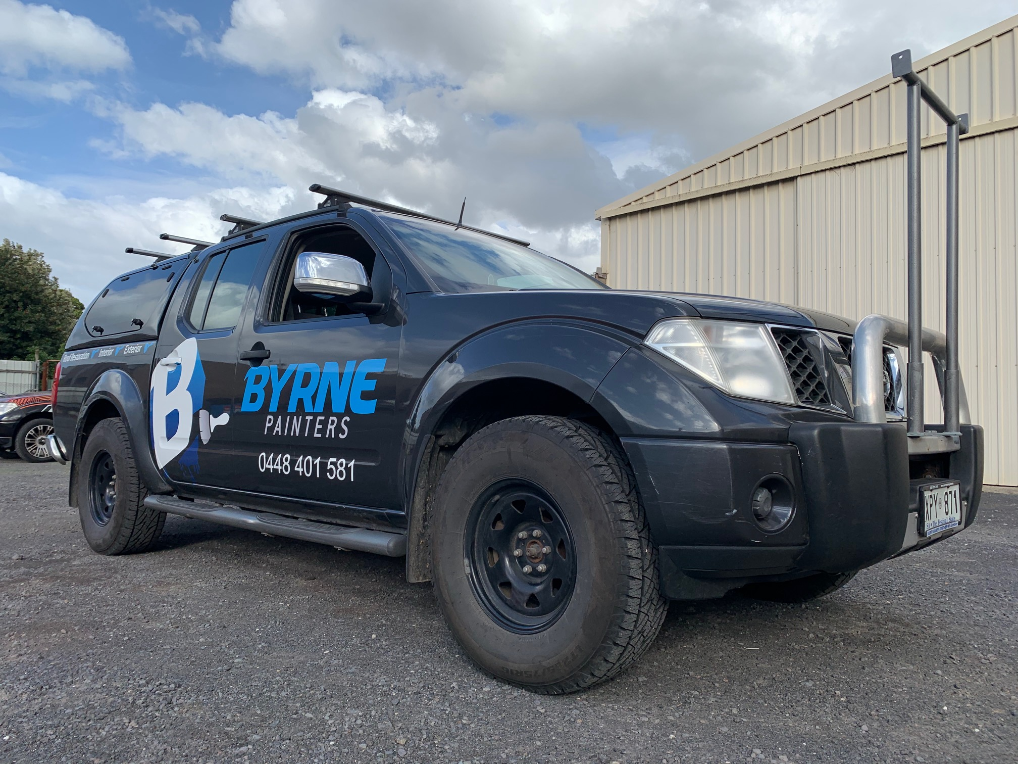 Byrne Painters Ute Signage