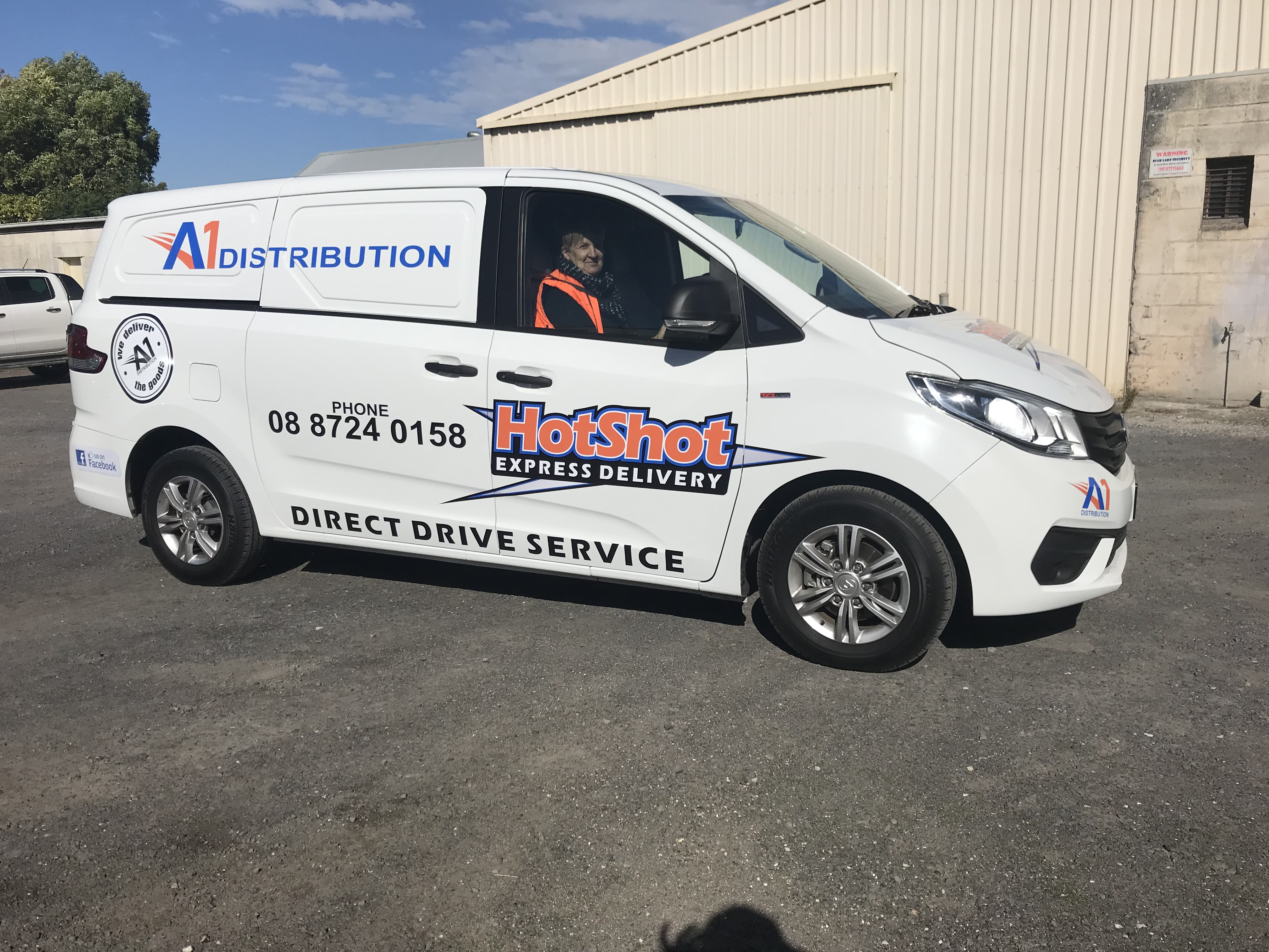 A1 Distribution Van Signage