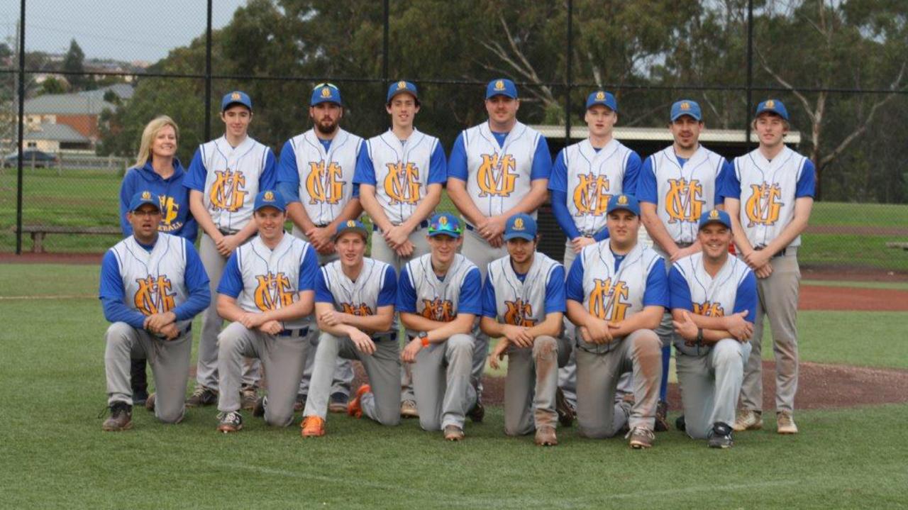 Mount Gambier Baseball Uniforms