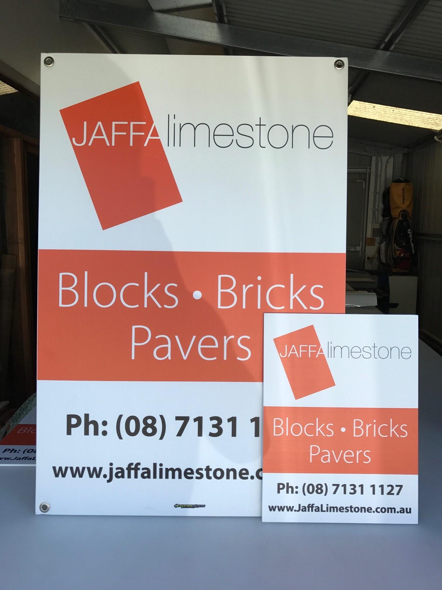 Jaffa Limestone Corflutes