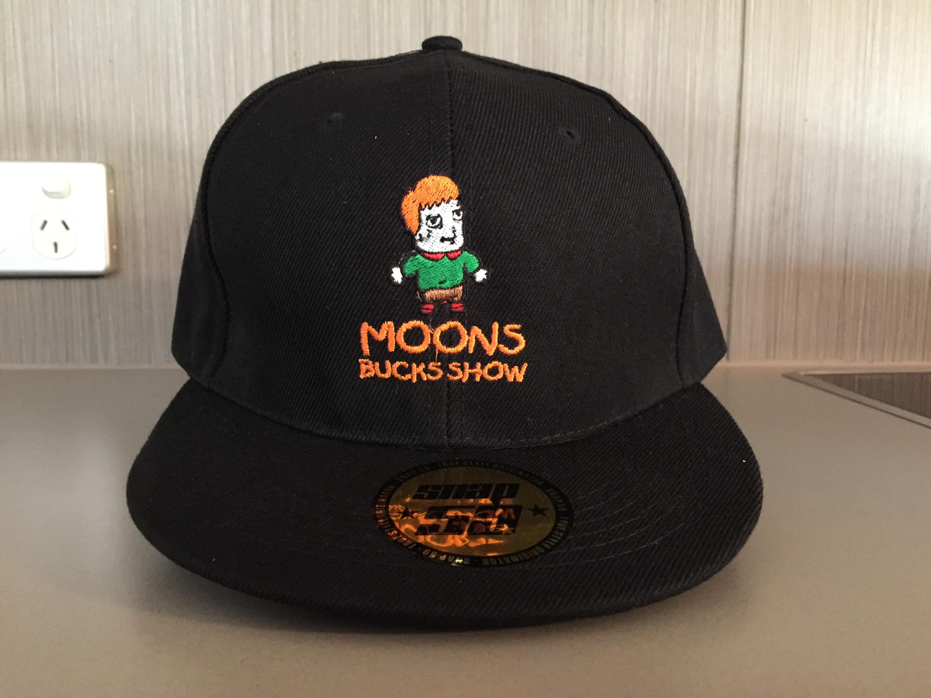 Embroided Snap Back