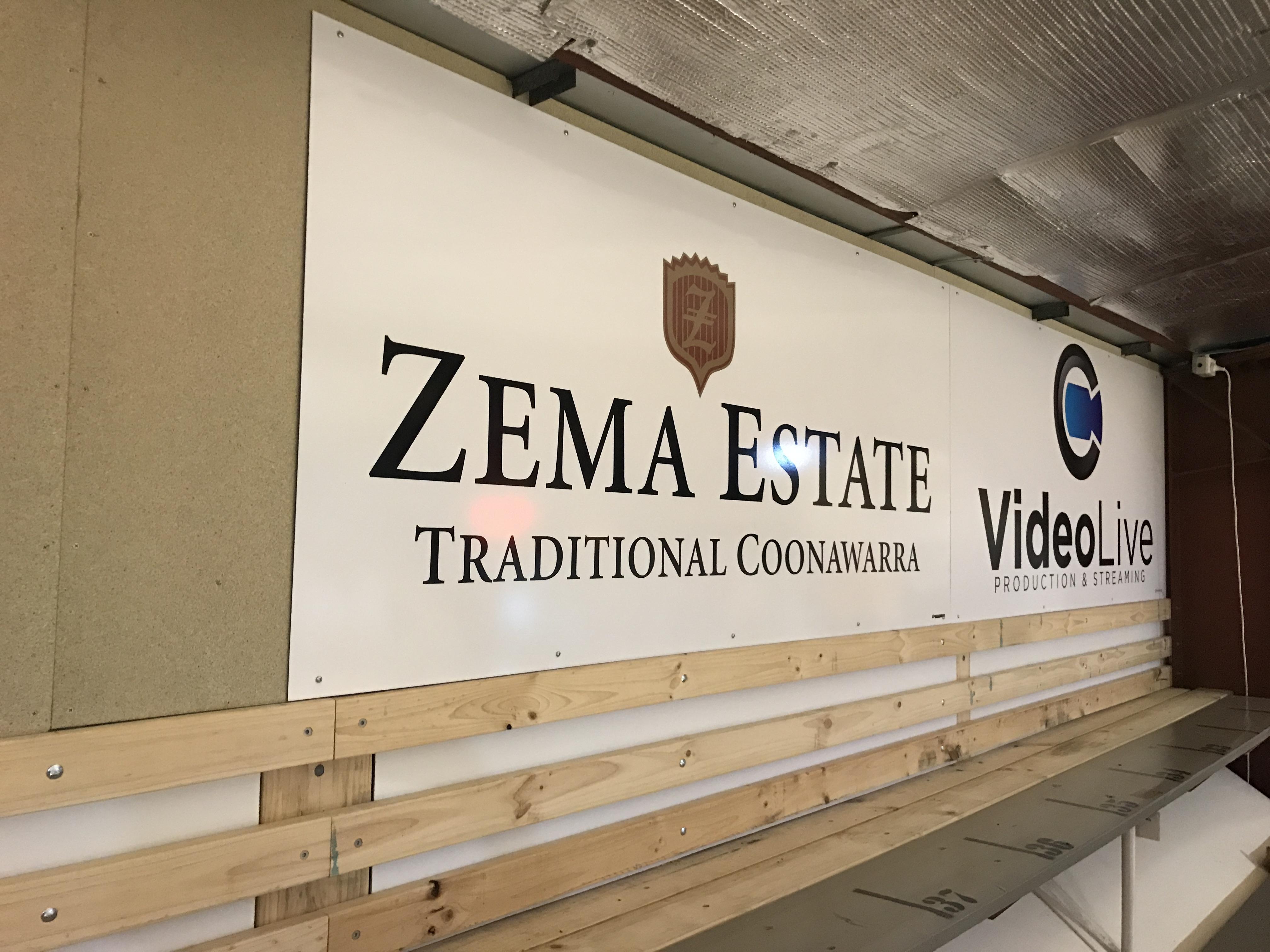 Zema Estate Pioneers Signage