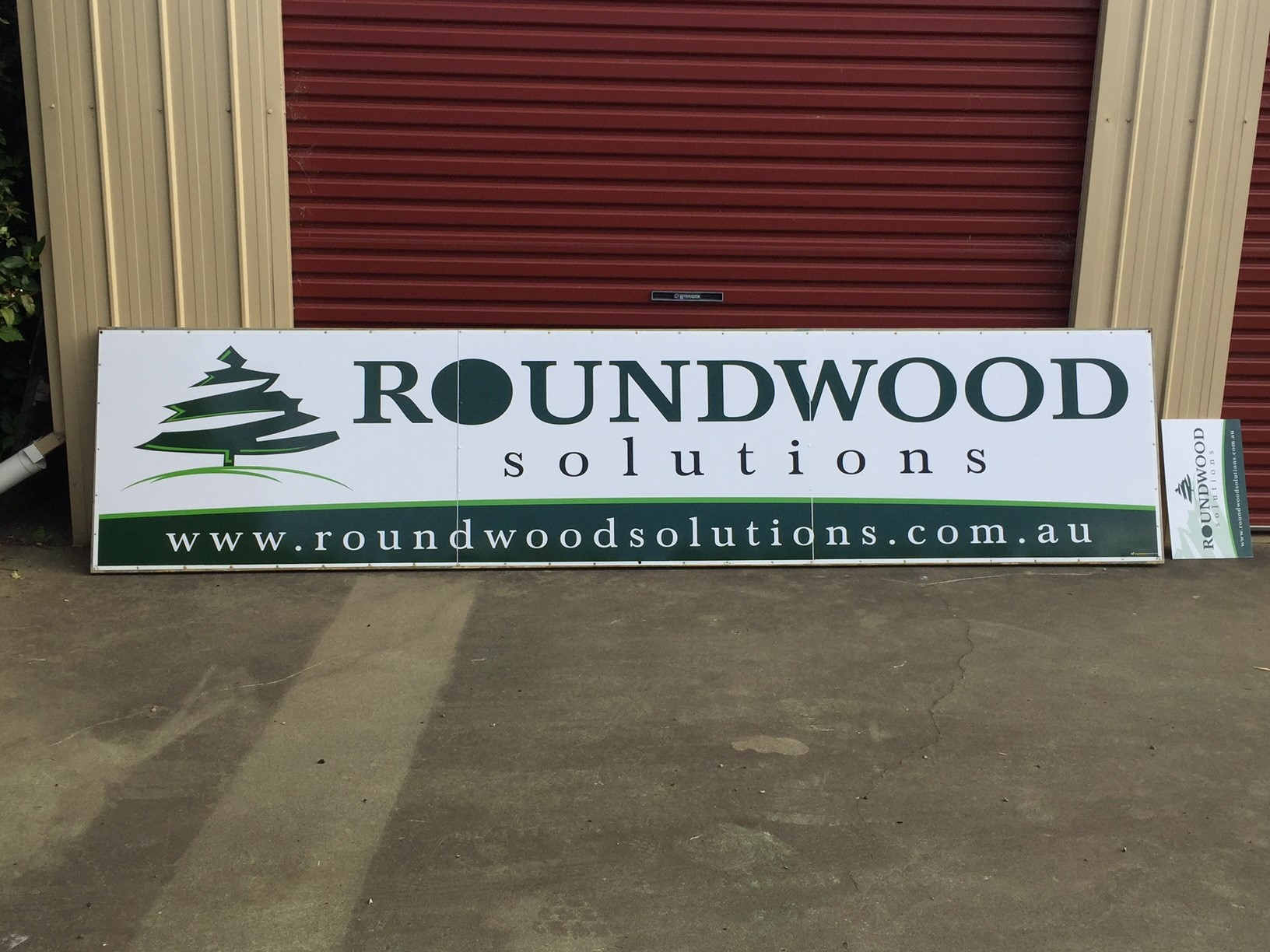 Roundwood Solutions Fence Sign