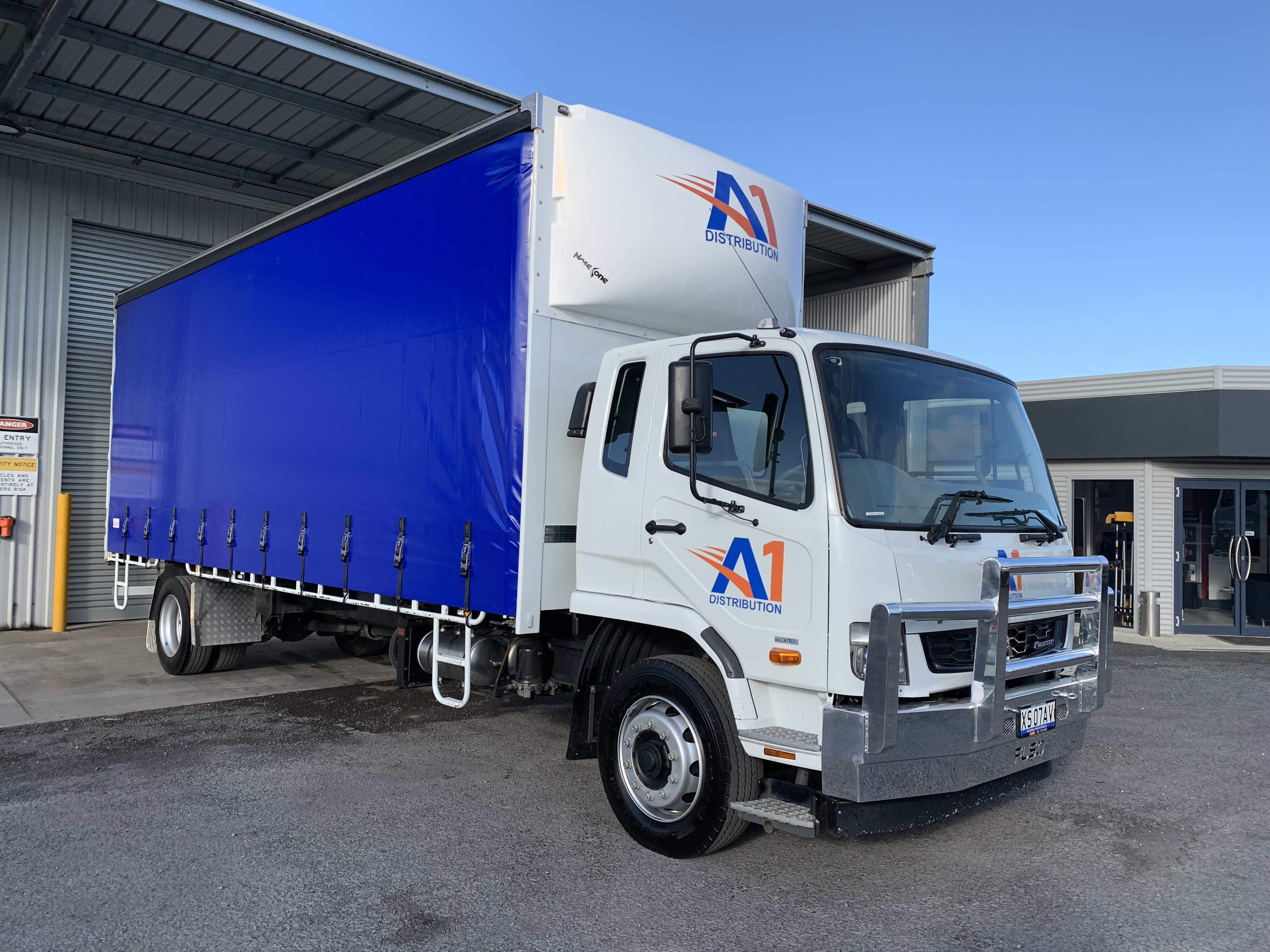 A1 Distribution Truck Signage