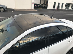 Gloss Black Roof Wrap