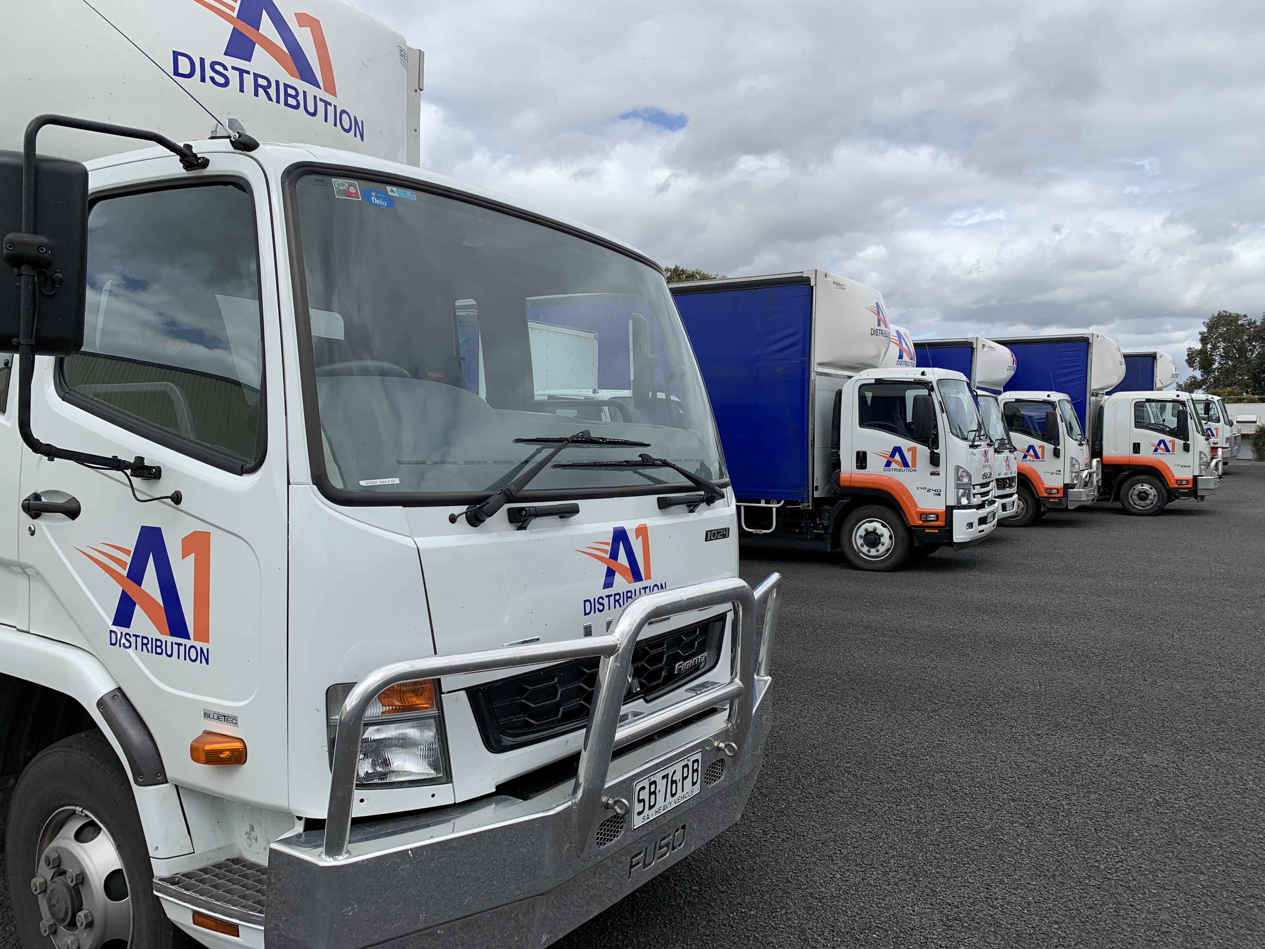 Fleet Signage A1 Distribution
