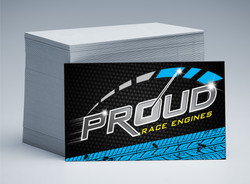 Proud Race Engines Business Card