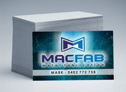 Macfab Business Cards