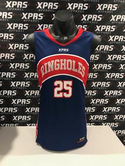 Ringholes Basketball Singlet