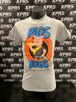 Pigs Buck Show DTG Tee's