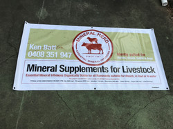 Mineral Stock Banner