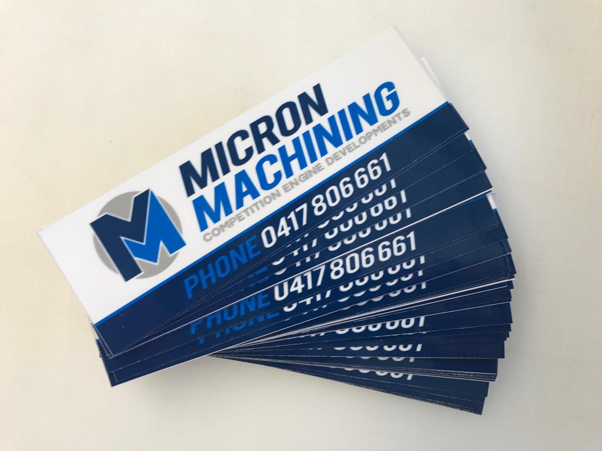 Michcon Machining Decals