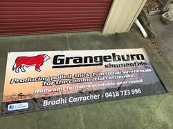 Grangeburn Simmentals Banner