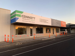 Kennett Builders Fascia Signage