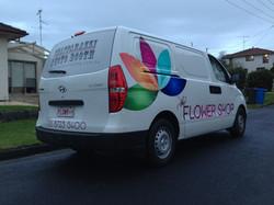 The Flower Shop Van