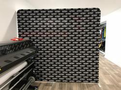 XPRS Apparel Media Wall