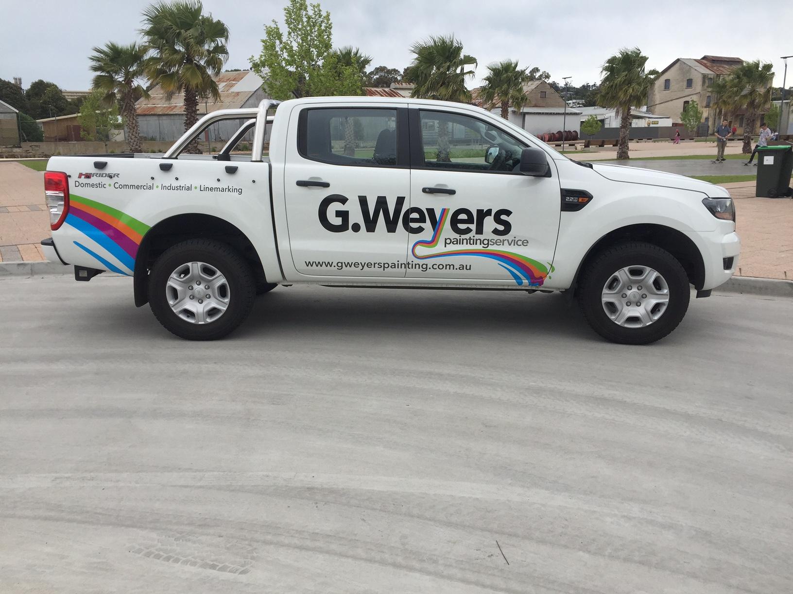 GWeyers Painting Ute