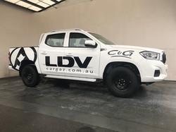 LDV C&G Ute Signage