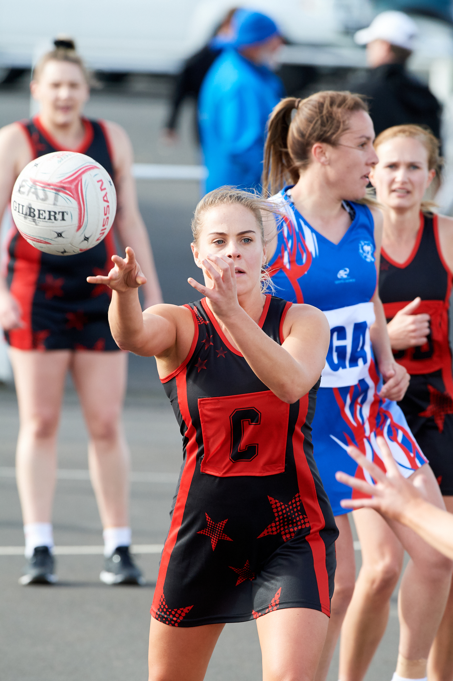 East Gambier Netball Dresses - Tarsh McCallum