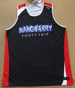 Nangwarry Football Trip Singlets