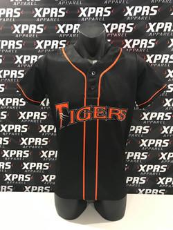 Tigers Baseball Junior Playing Uniforms.