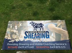 SE Shearing 3000mm x 1500mm Banner