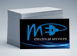 MED Electrical Business Cards