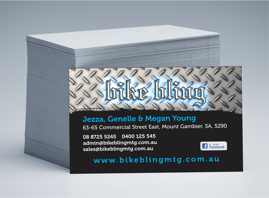 Bike Bling Business Cards