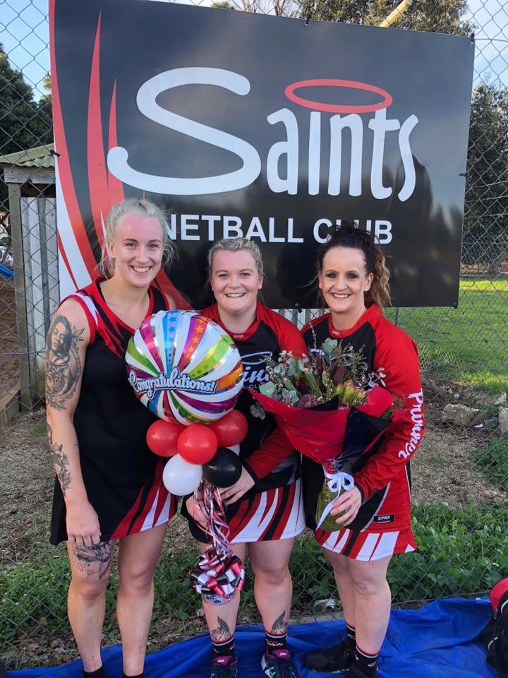 Saints Netball Club Uniforms
