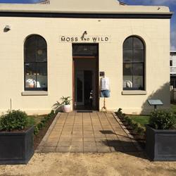 Moss & Wild Shop Signage
