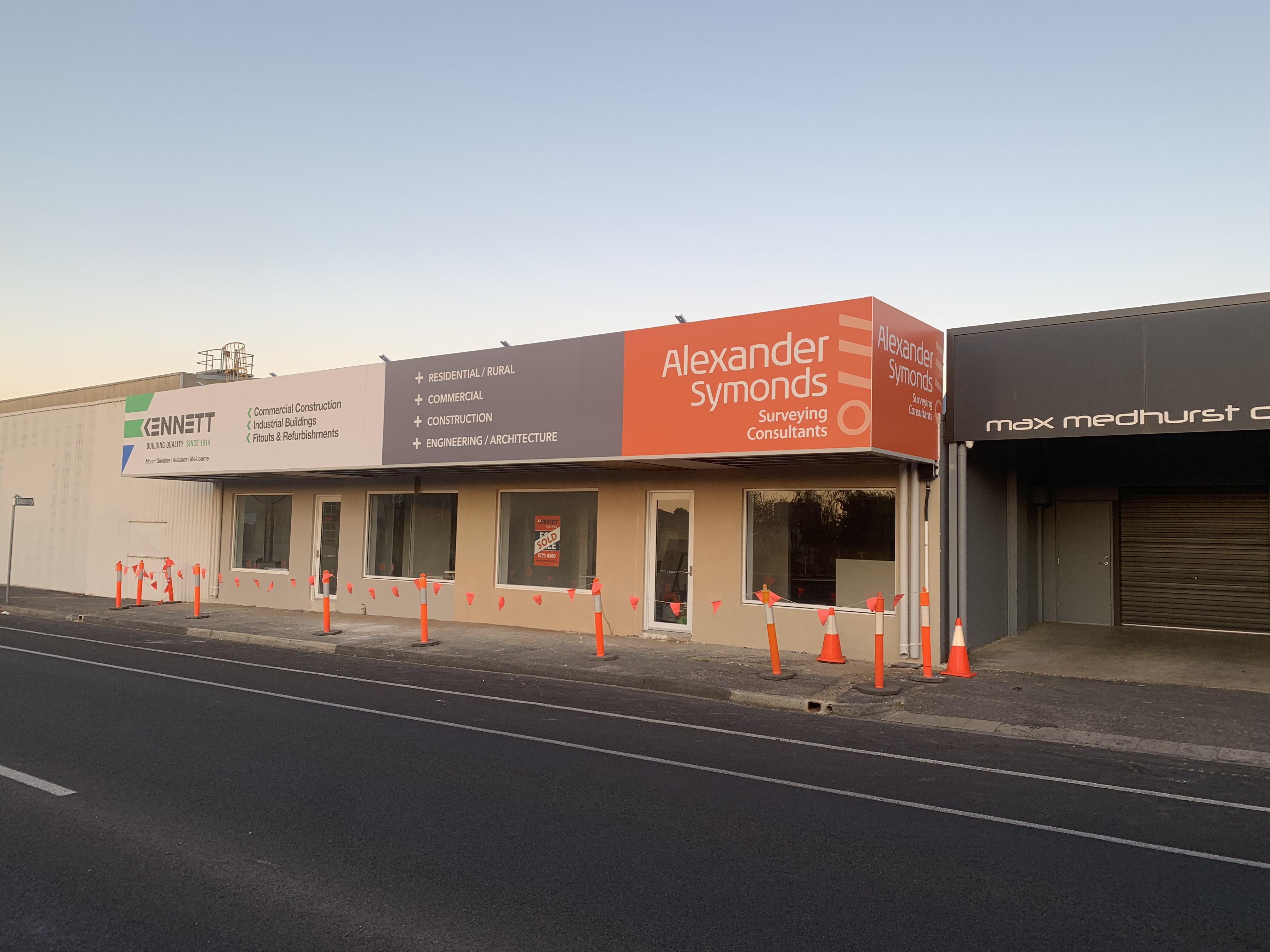 Alexander Symonds Building Signage