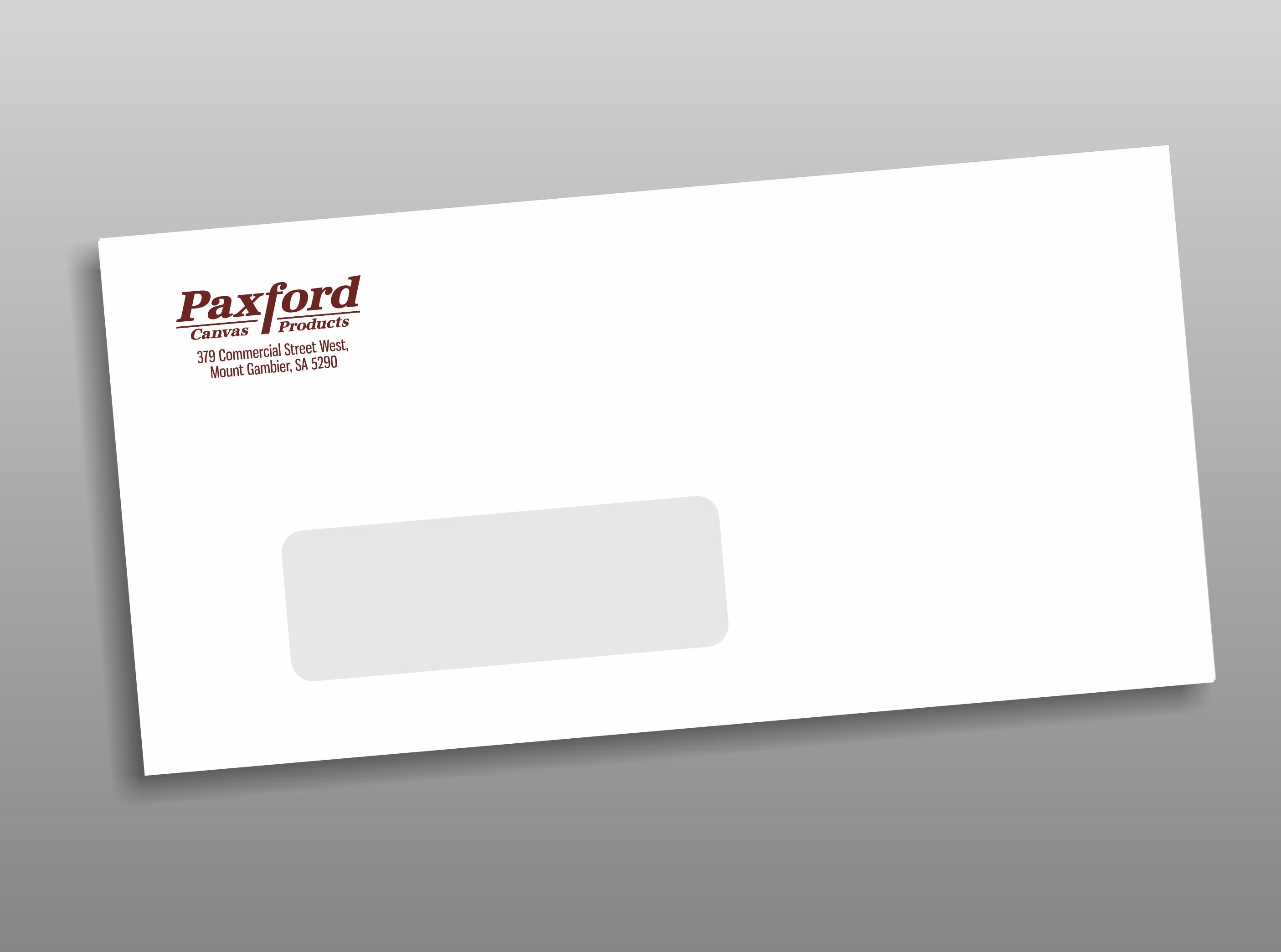 Paxfords Envelope