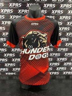 Thunder Dogs Mixed Netball Tees