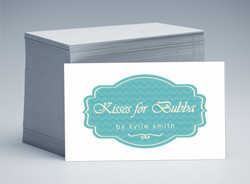 Kisses for Bubba Business Cards