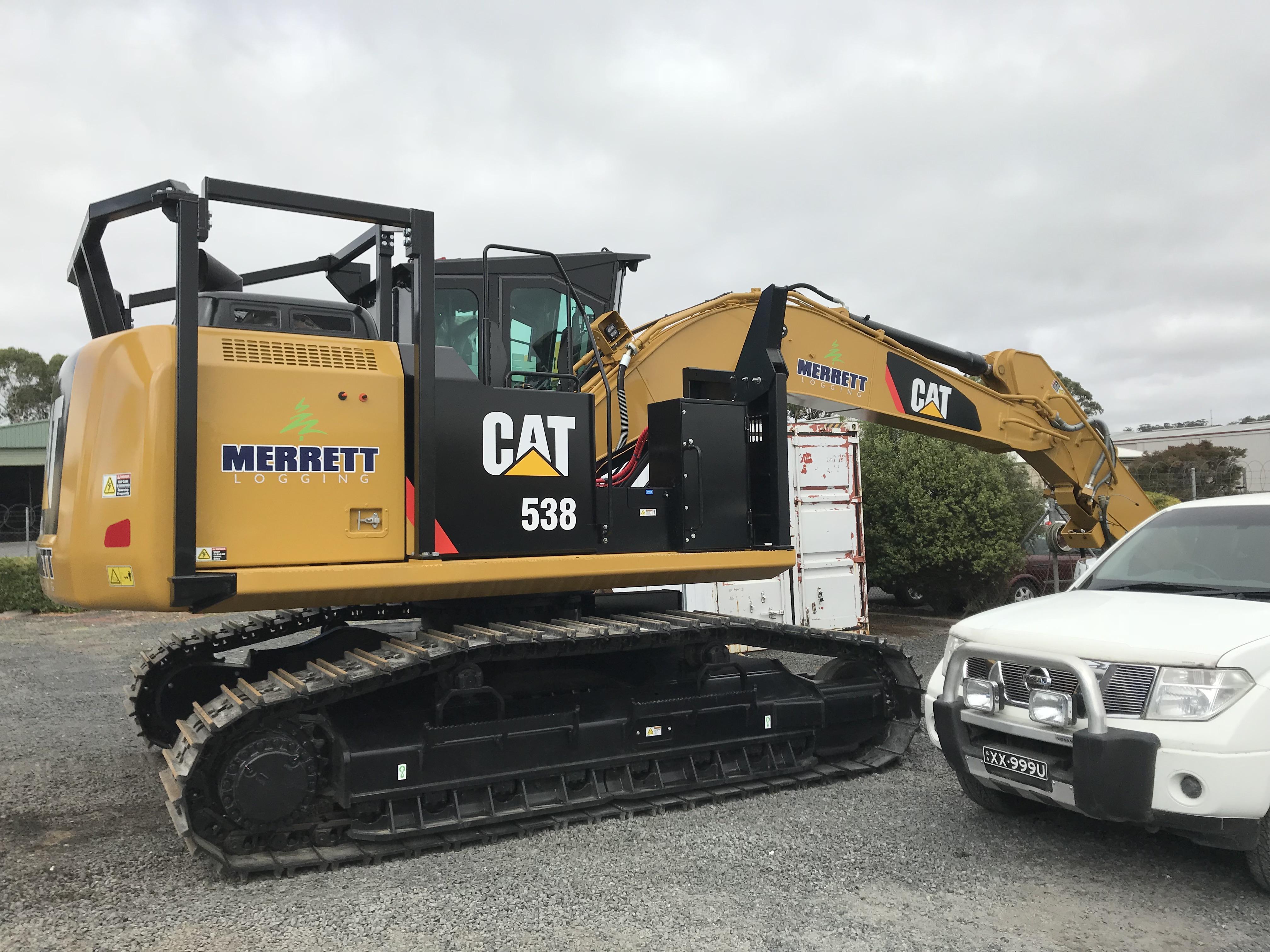 Merrett Logging CAT