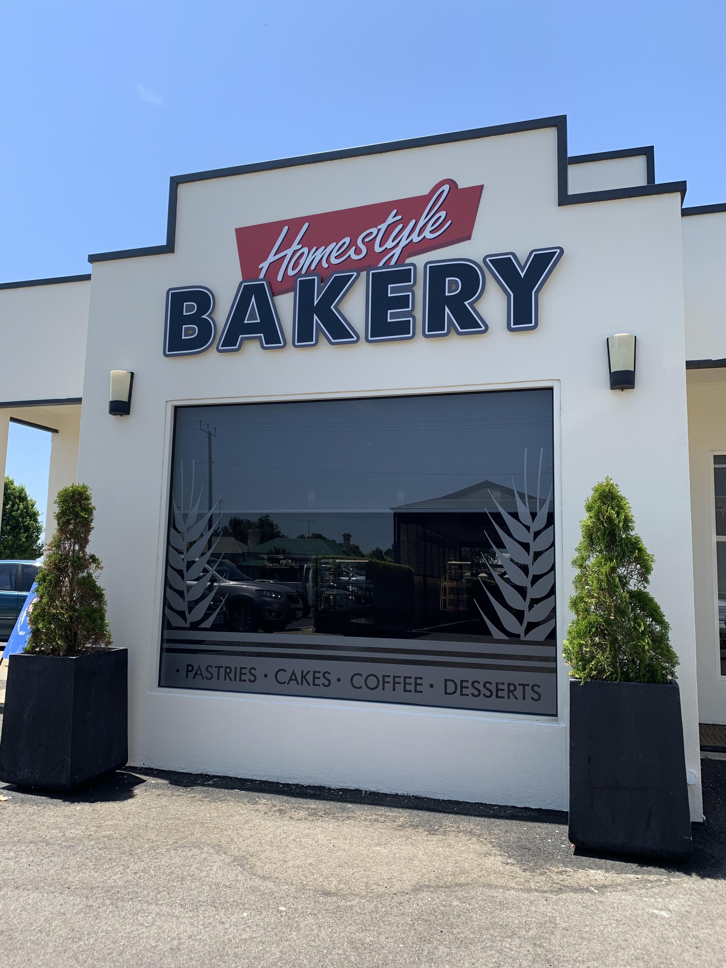 Homestyle Bakery Signage
