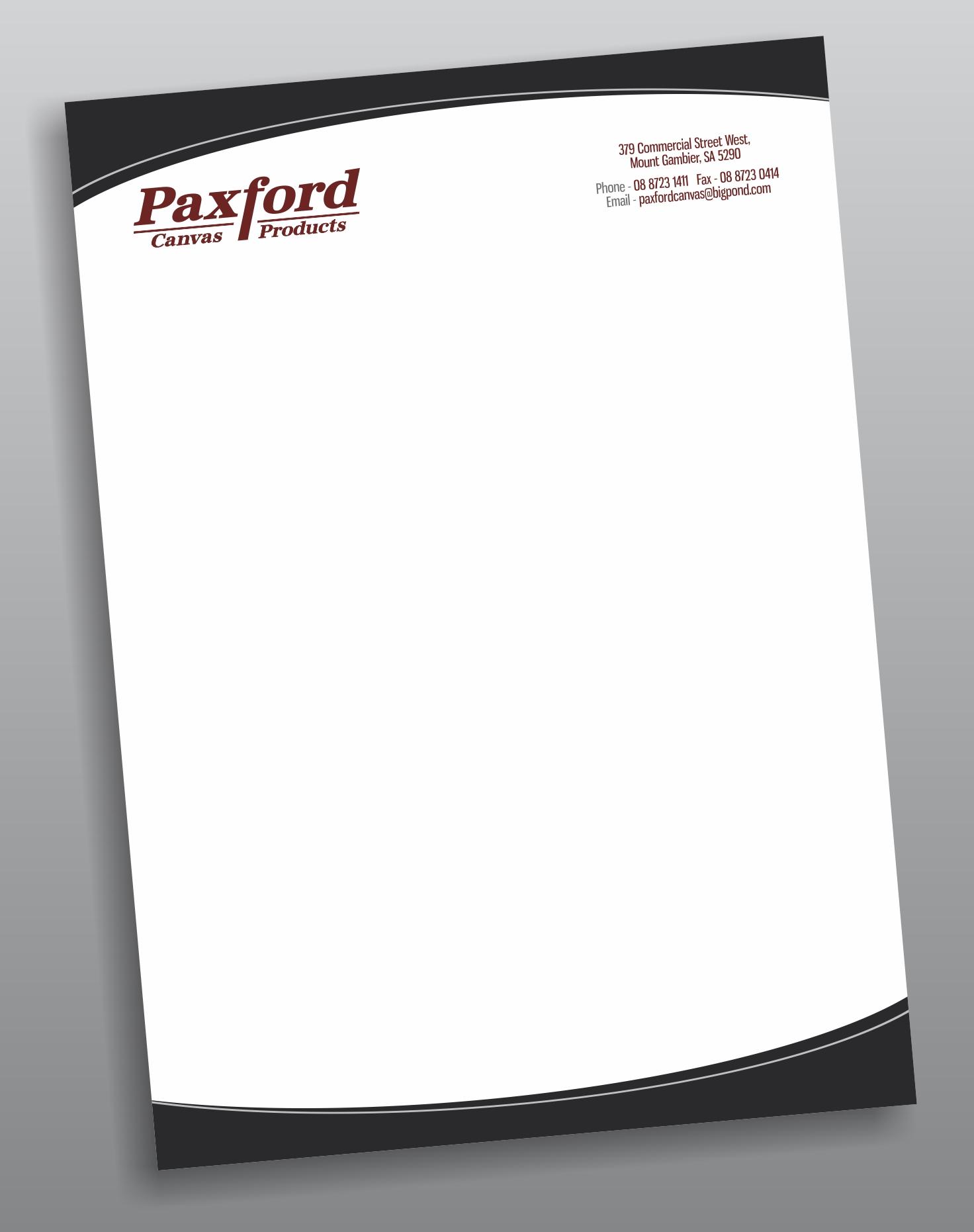 Paxfords Canvas Letterheads