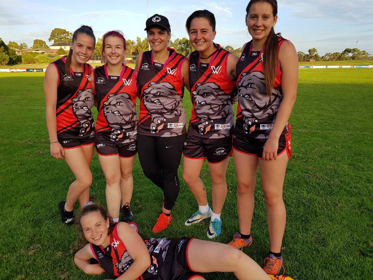 East Gambier Womens AFL Uniforms
