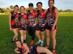 East Gambier Womens AFL Uniforms