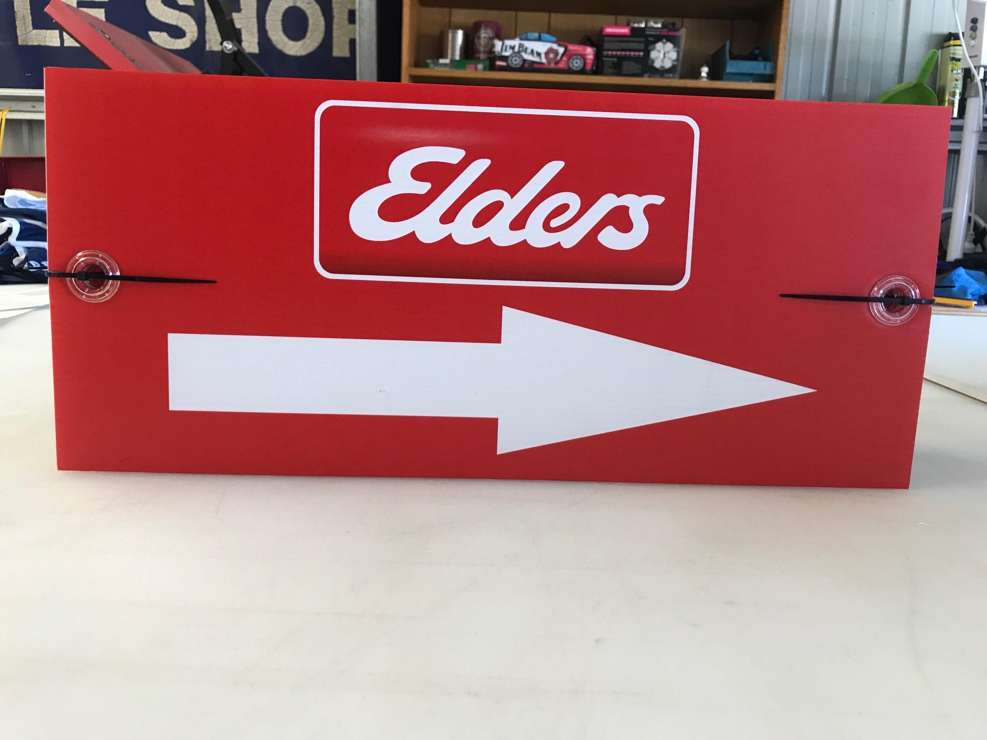 Elder Real Estate Directional Arrows