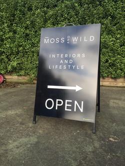 Moss & Wild A-Frame
