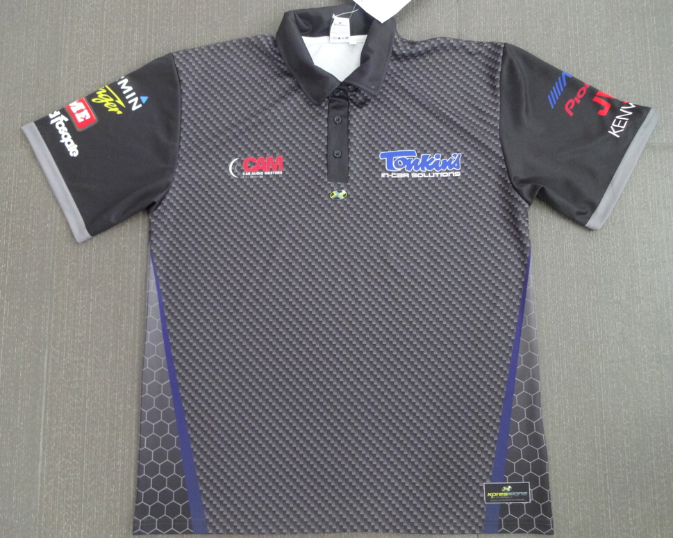 Tonkins Car Audio Polo Shirts Front