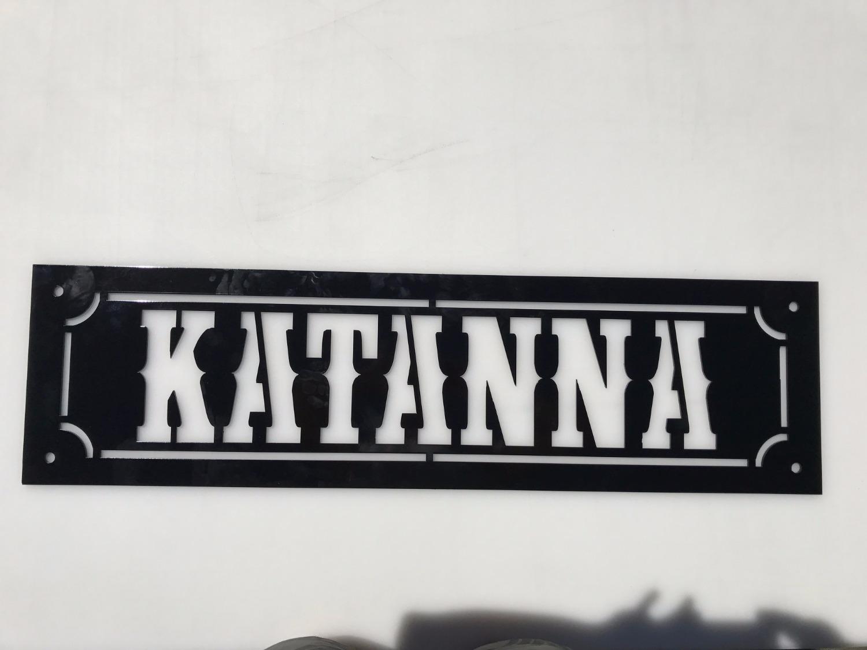 Katanna Laser Cut Metal Sign_edited