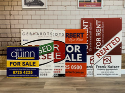 Real Estate For Sale Corflute Signs